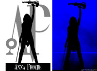Anna Phoebe Logo & Original Photo