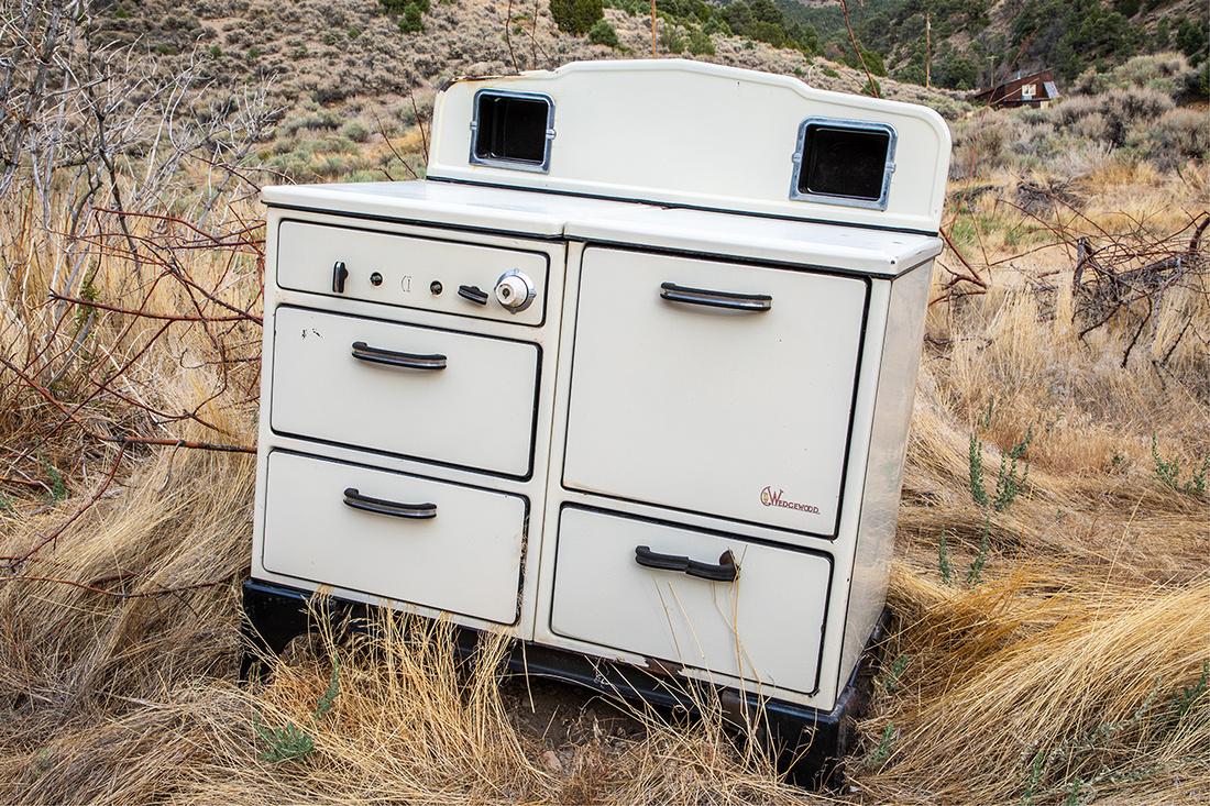 Wedgewood Oven