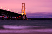 Mackinac Bridge Dusk